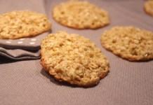 Biscuits à l'avoine et au yaourt sans sucre