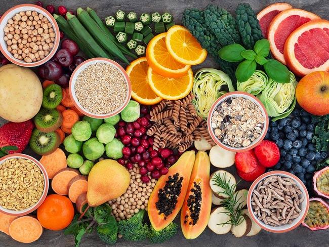 le jeûne et l'alimentation saine