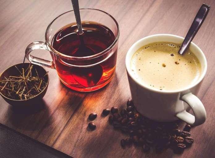 Le café et le thé vert: