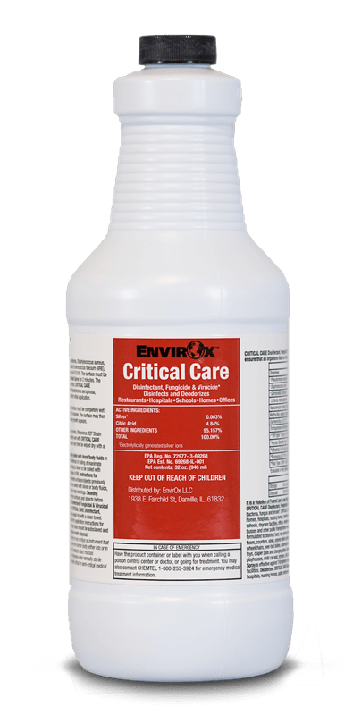 Critical Care Disinfectant Image