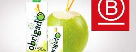 Brasileira Obrigado é a primeira empresa de coco do mundo a se tornar B Corp