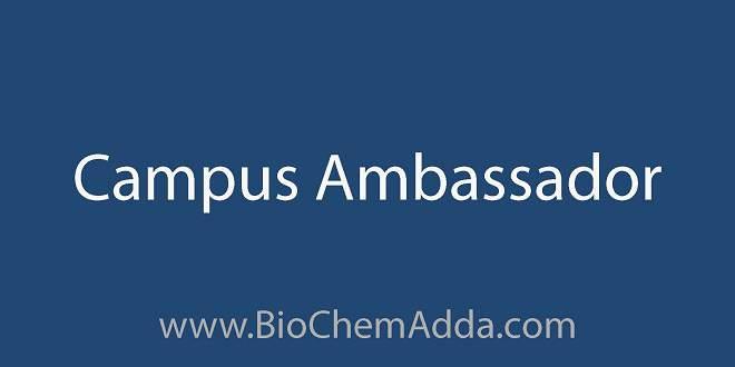 Campus Ambassador | BioChemAdda.com