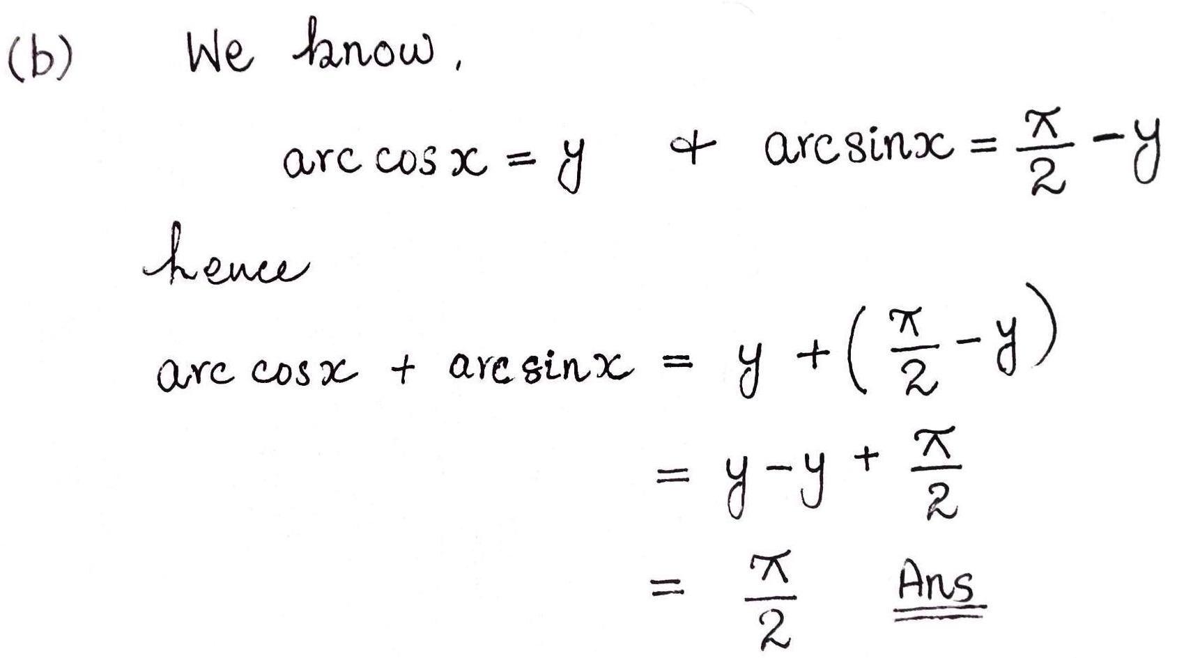 Edexcel Maths C3 Jan Q8 Ii