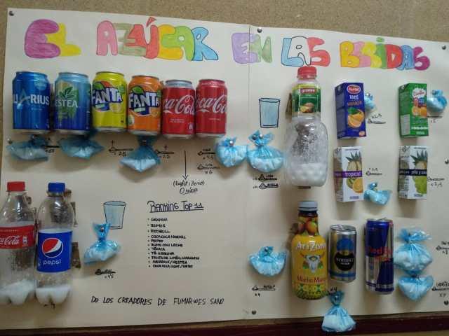 El azúcar de las bebidas 2