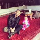 John Legend dan Luna Simone Stephens