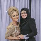 Krisdayanti dan Siti Nurhaliza