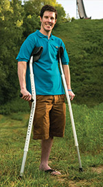 Mobilegs Ultra Crutches