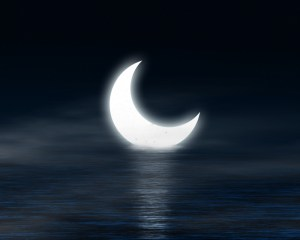 moon and melatonin