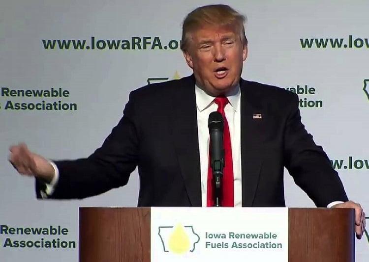 Trump promete 'paquete gigante' relacionado con el etanol para complacer a los agricultores