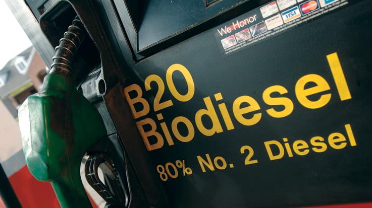 Los nuevos vehículos oficiales del estado de Iowa deberán ser aptos para B20