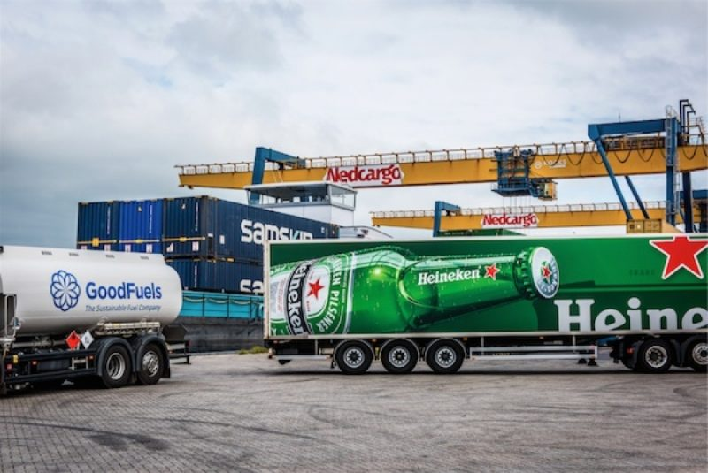 Biocombustibles en alta mar