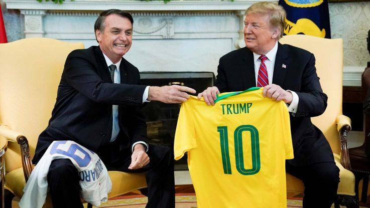 Bolsonaro accede al pedido de Trump pra aumentar la cuota de importación de etanol sin aranceles