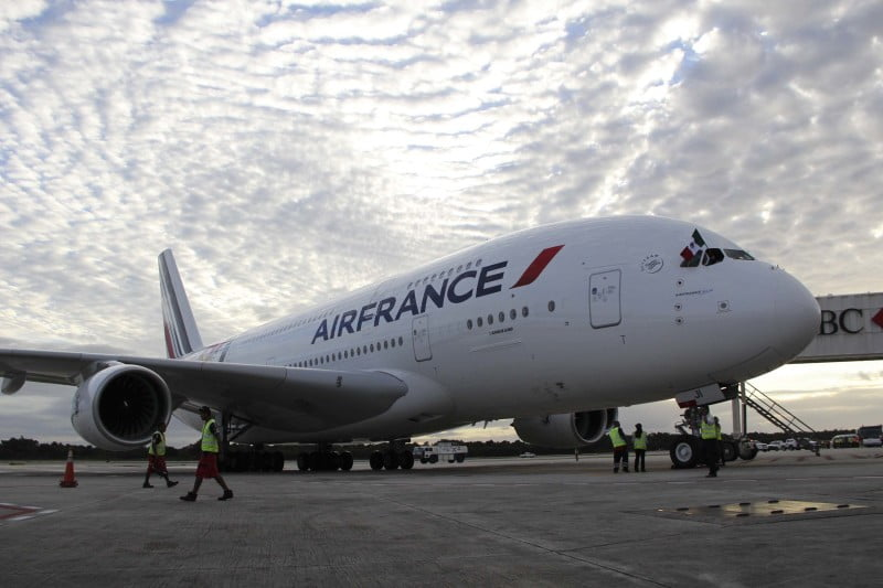 Air France financiará proyectos de reducción de emisiones