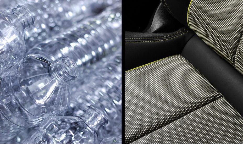 De la botella a la tela: Audi incorpora pet reciclado en la tapicería de los asientos