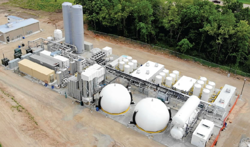 En Wisconsin se inaugura una planta que permitirá a productores de biogás inyectar el combustible en la red de gas natural