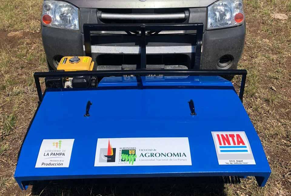 INTA desarrolla un prototipo para cosechar semillas de especies nativas