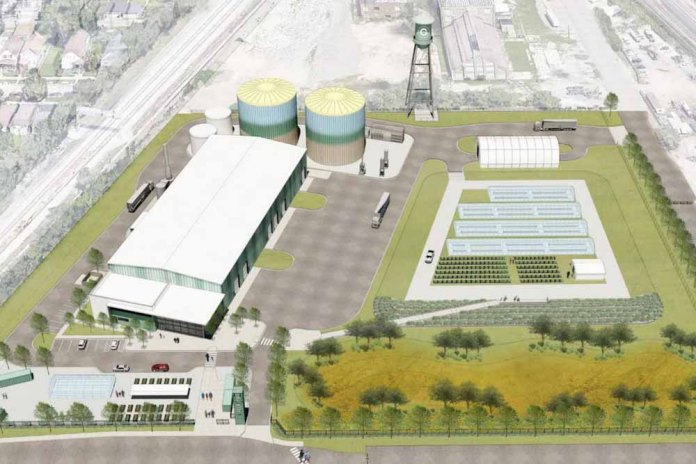 La agricultura urbana y la energía renovable se unen en un proyecto modelo en Chicago