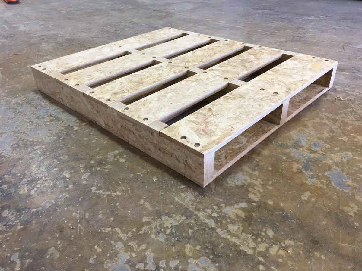 EEUU: construirán una planta para fabricar pallets a partir de rastrojos de maíz