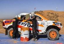 Repsol realizó la primera prueba con biocombustible en el Rally de Marruecos