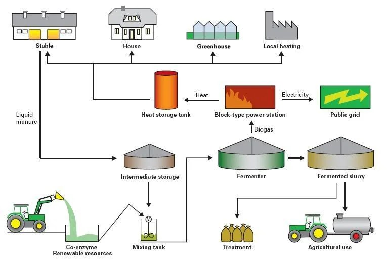 Uses of Biogas | BioEnergy Consult