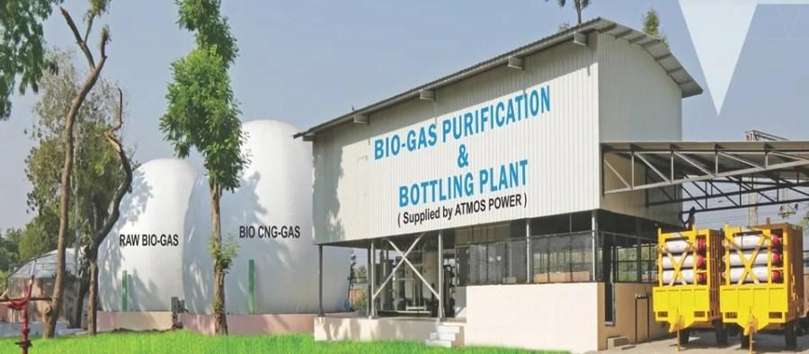 Biogas-Purification