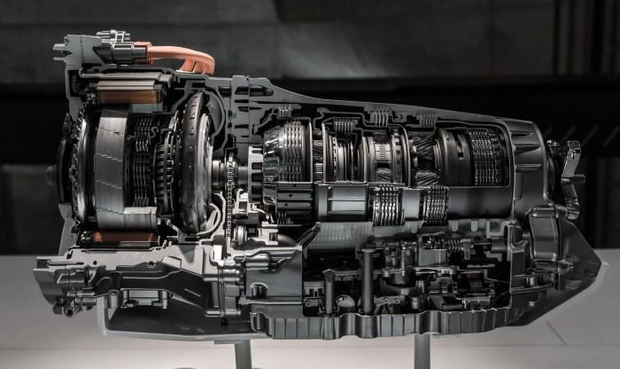 working of car transmission system