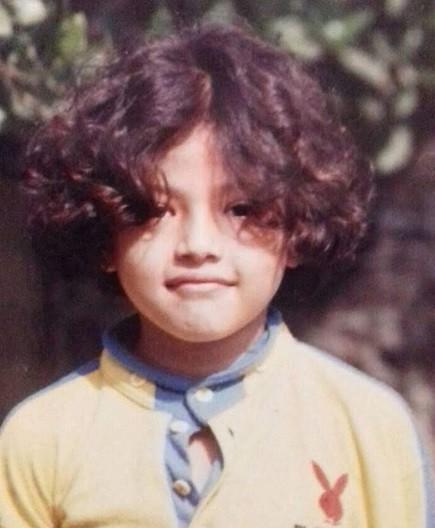 samragyee rl shah childhood image