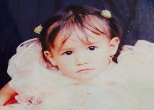 malika mahat childhood image