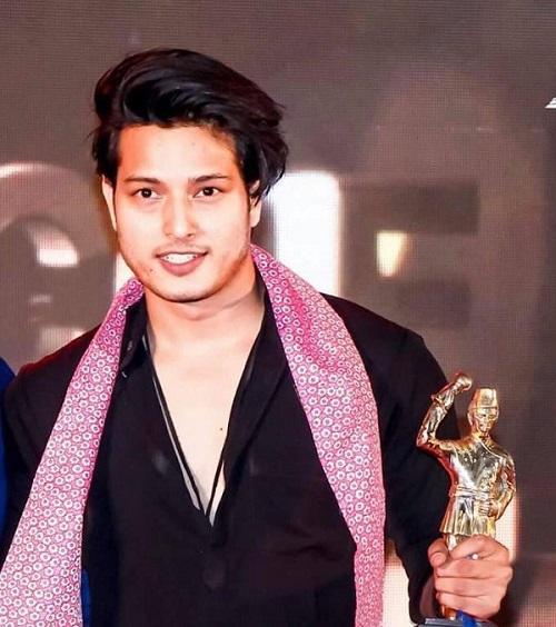 Pushpa Khadka with Awards
