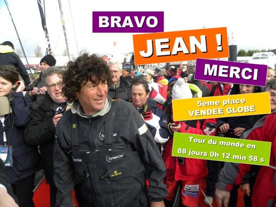 BRAVO JEAN !