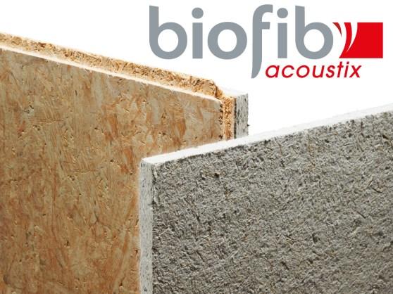 Nouveauté produit : panneau acoustique Biofib'acoustix