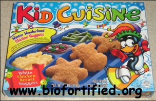 Kid Cuisine photo by Matt, via the very odd but quite funny review of the product on the X-Entertainment blog.