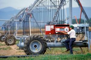Irrigation scheduling. Photo: USDA-ARS
