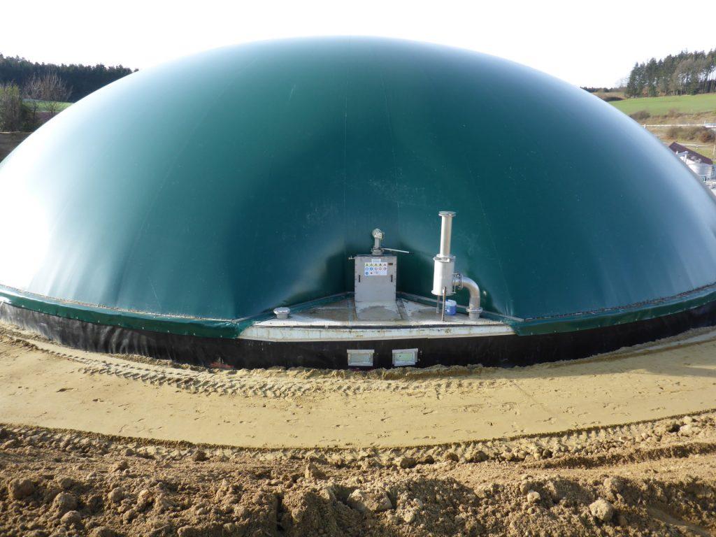 Dachy membranowe do biogazowni