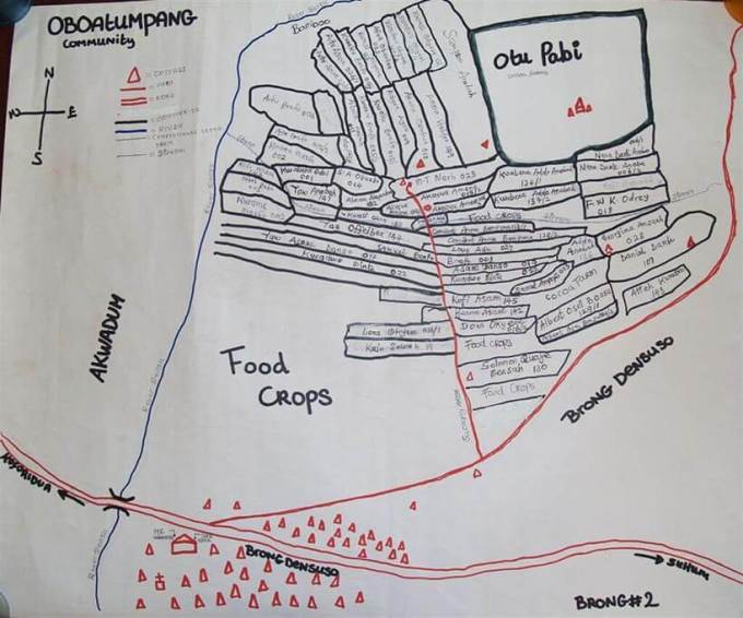 Map of Obuatumpang Fairtrade