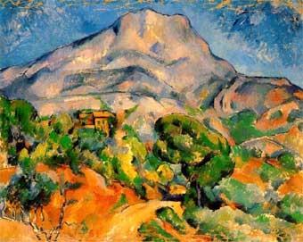 El monte de Sainte-Victoire (1900)