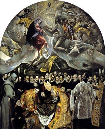 El entierro del Conde Orgaz (1587), de El Greco