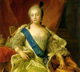 Resultado de imagen para Fotos de Isabel I, emperatriz rusa
