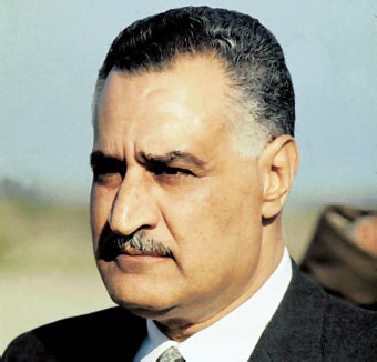 Resultado de imagen para Fotos de Gamal Abdel Nasser