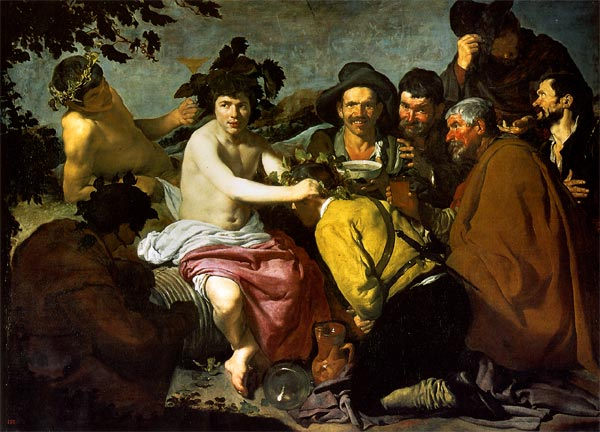 Velázquez. El triunfo de Baco, también conocido como Los borrachos.