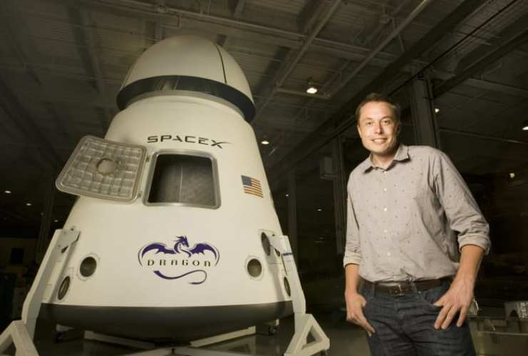 Tech Giants: Elon way from home. Elon Musk, an entrepreneur and inventor known for founding the private space-exploration corporation SpaceX, as well as co-founding Tesla Motors and Paypal, poses for a portrait in Los Angeles, California, on July 25, 2008.