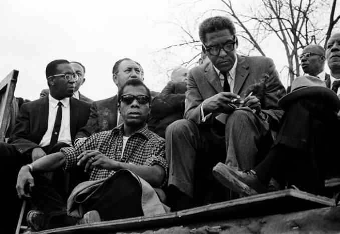 James Baldwin Bayard Rustin Selma March
