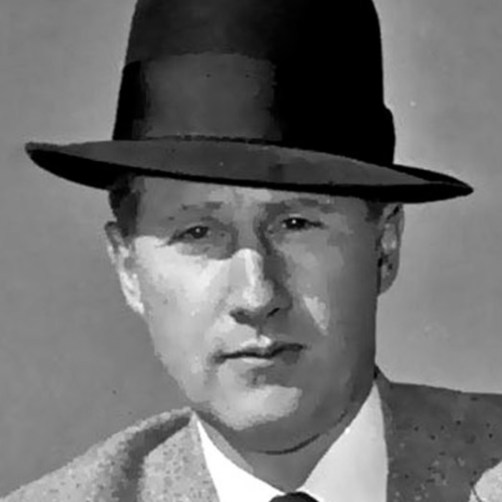 Mark Felt photographed in 1958.