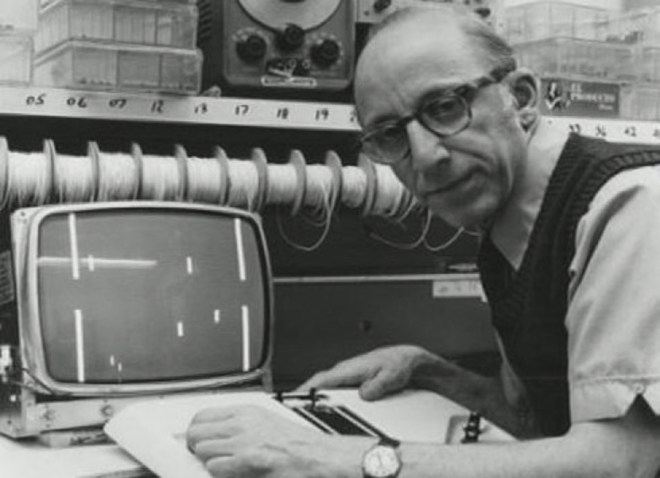 """Ralph Baer, the """"father of video games."""""""