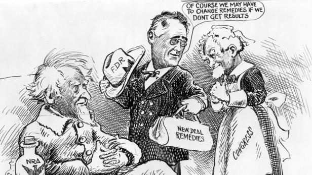 Image result for franklin roosevelt cripple cartoon