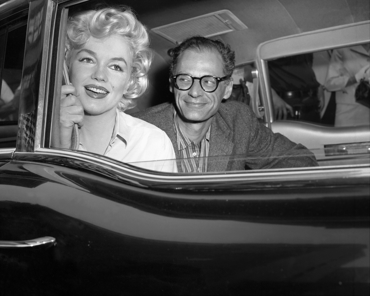 Marilyn Monroe And Arthur Miller Had An Instant Connection