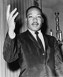 martin luther king steckbrief # 1
