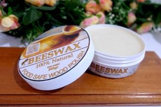 Biopolish® Beeswax food grade wood polish merupakan pemoles kayu alami berbahan dasar beeswax