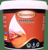 finishing garden furniture warna natural transparan bisa dilakukan dengan cat kayu paling bagus, Biovarnish.