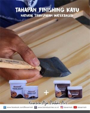 finishing natural dengan biovarnish